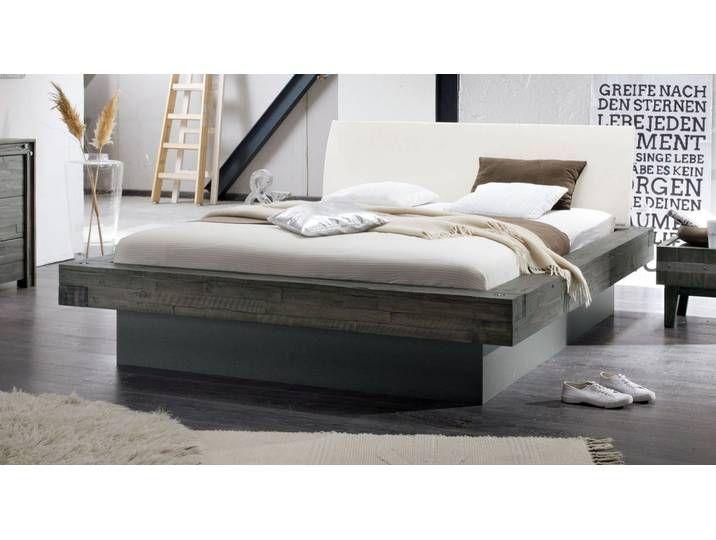 Bett In Balkenoptik Akazie Grau Mit Bettkasten 160x200 Cm Romero M 160x200 Akazie Balkenoptik Bett Bet In 2020 Matratze Couch Nobles Wohnzimmer Lounge Mobel