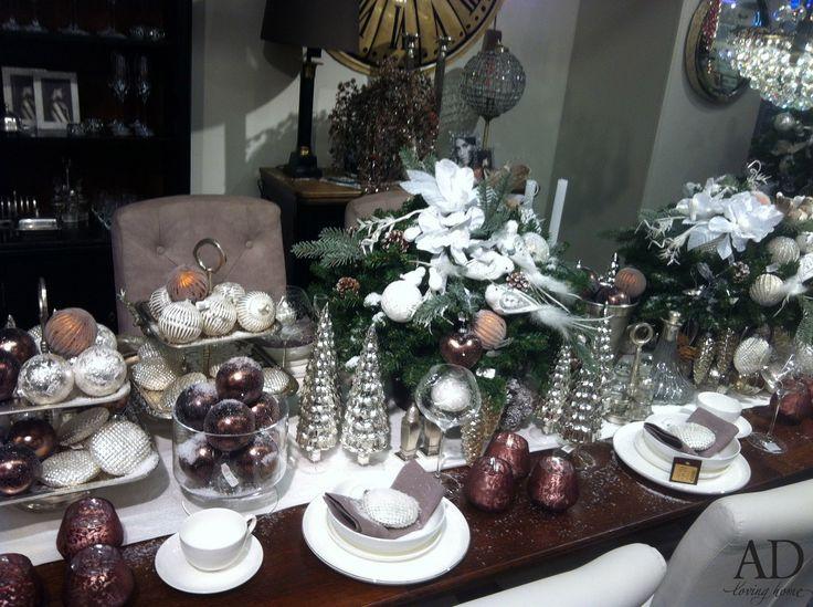 Propozycja stołu świątecznego