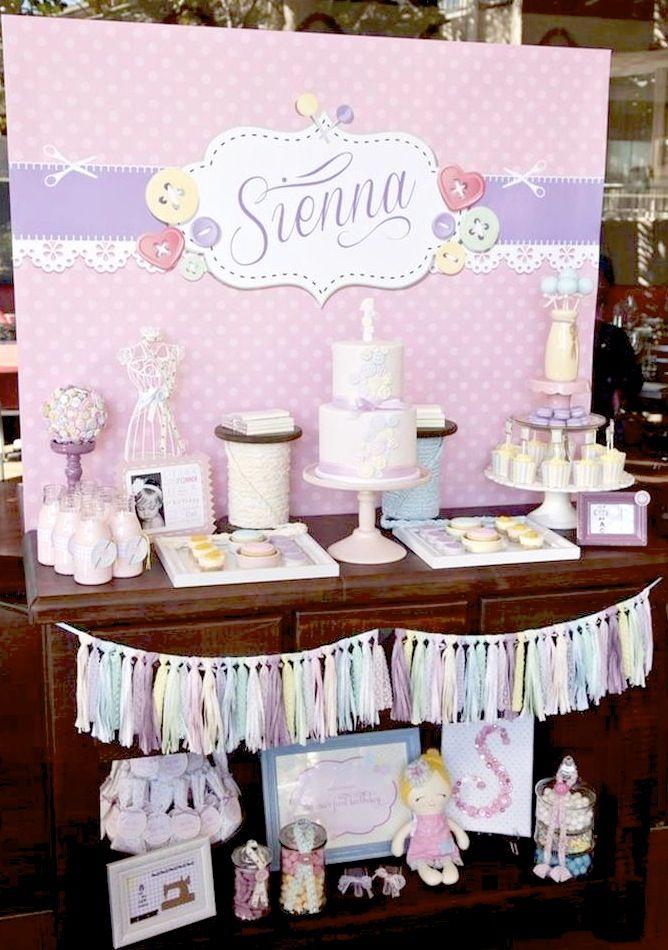 Cute as a Button 1st Birthday Party Full of REALLY CUTE Ideas via Kara's Party Ideas | Kara'sPartyIdeas.com #Girl #Party #Ideas #Supplies #cuteasabutton