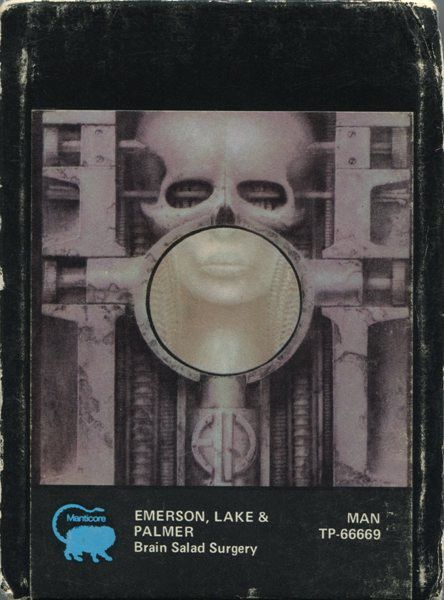 Emerson, Lake & Palmer - Brain Salad Surgery (8-Track Cartridge, Album) at Discogs
