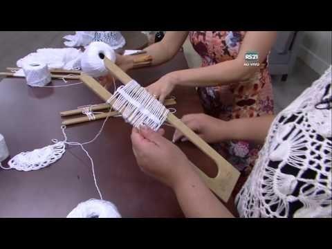 Cardigan a forcella - Mulher.com - 09/11/2015 - Crochê de grampo - Eliete Massi PT1 - YouTube