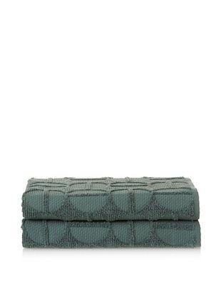 70% OFF Garnier-Thiebaut Ligne O Bouleau Set of 2 Bath Towels (Toundra)