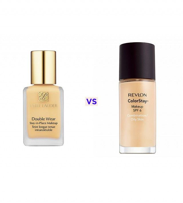"""Estée Lauder Double Wear is the best foundation! I use this as my """"work"""" foundation because it's very full coverage and it lasts all day. I also use the Revlon Color Stay. My second favorite. It's a lighter coverage that's perfect for days when you don't want to look too made up."""
