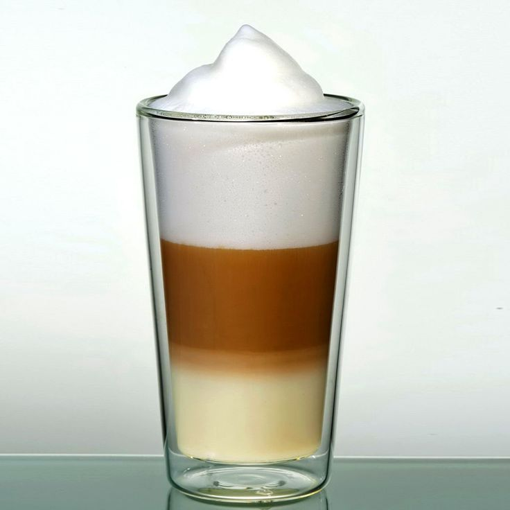 GlassRoyal Latte straight ø7,5x13cm 290ml