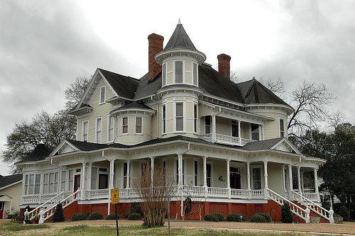 Hawkinsville Ga Pulaski County Victorian Architecture