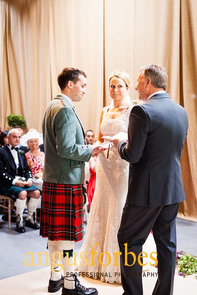 Kinkell Byre Near St Andrews Scottish Wedding Venue