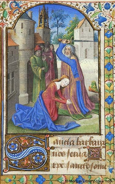 Book of Hours, MS S.14 fol. 3v - Images from Medieval and Renaissance Manuscripts - The Morgan Library & Museum
