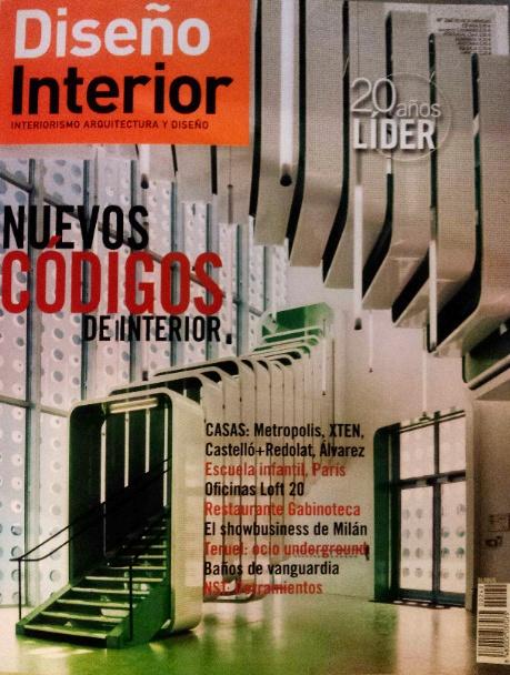 La Gabinoteca + Pingpongarquitectura en un reportaje de la revista Diseño interior