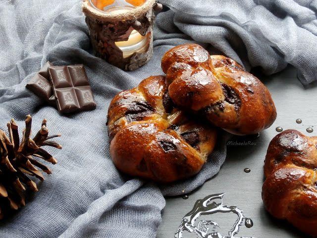 To vás takhle popadne chuť na něco sladkého, ideálně čokoládového k snídani. V hledáčku byl čokoládový krantz s vlašskými ořechy, který js...