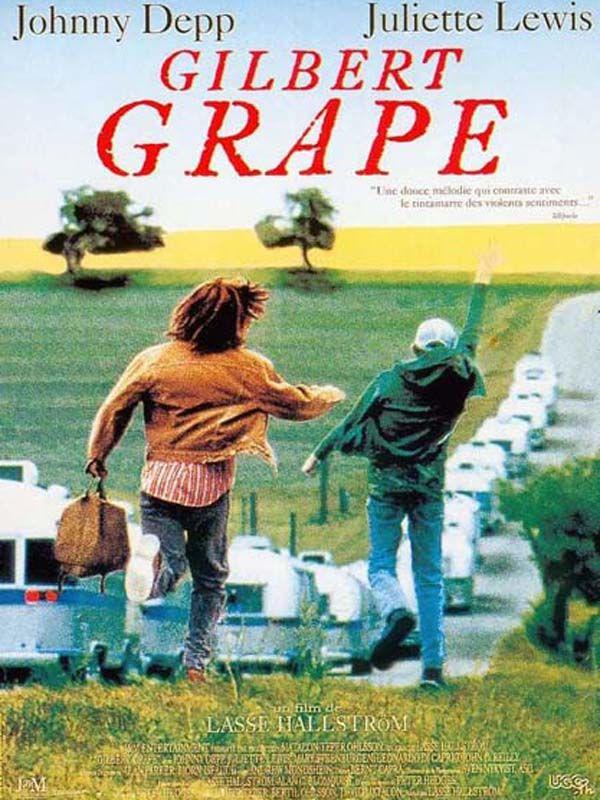 Gilbert Grape est un film de Lasse Hallström avec Johnny Depp, Leonardo DiCaprio. - 1994