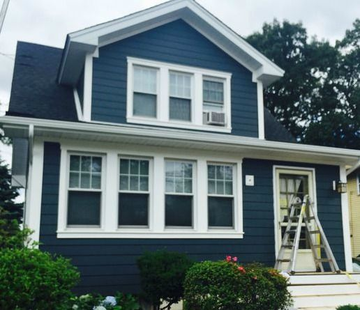 Orange nj crane board insulated vinyl siding 973 487 3704 for Vinyl siding colors on houses