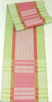 Pinkkiraita- kaitaliina 25 x 140 cm