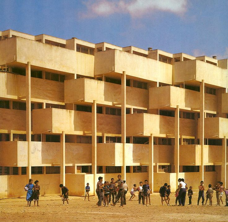 Types Of Apartment Buildings: Housing In Casablanca, Studer Andre