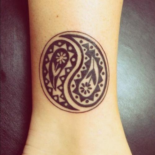 Yin Yang tattoo yinyang