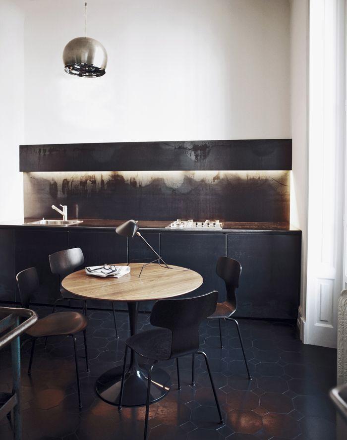 Schön Küche Im Interessantem Look #Kueche #Material #Design Http://www.