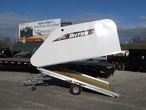 """new triton 10 snowmobile trailer on sale now best deals dr trailer - Categoria: Avisos Clasificados Gratis  Item Condition: not specifiedDR TRAILER SALESALL ENCLOSED SNOWMOBILE TRAILERS ON SALE NOW !BEST DEALS DR TRAILER SALESWE BEAT OR MEET ALL COMPETITOR PRICINGSEE DEALERNEW 10' TRITON TILT SNOWMOBILE TRAILERLIGHT WEIGHT ALL ALUMINUM FRAME101"""" WIDE X 10' LONGTILT STYLE TAPERED COVERED FOR BETTER AERODYNAMICS AND IMPROVED GAS MILEAGEDEXTER TORSION AXLEFRONT ACCESS DOORDUAL AIRFLOW VENTS FOR…"""