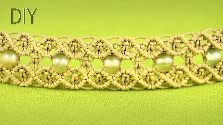 Macrame Double Wave Bracelet - Tutorial