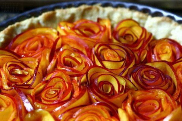 Easy apple desserts - How to make apple roses for a pie and mini tarts