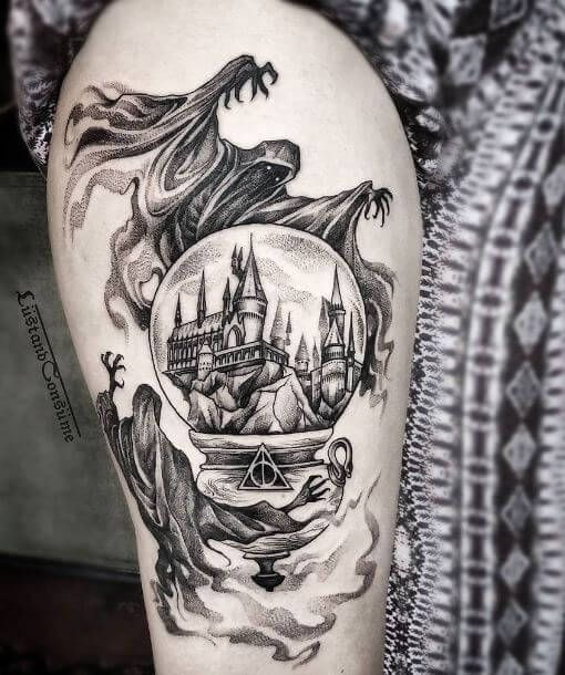50 Unique Harry Potter Tattoos Ideas and Designs (2018)