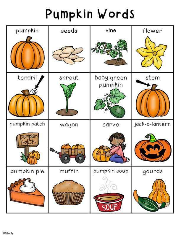 Pumpkins Lesson Plans, Activities, Printables, and Teaching Ideas