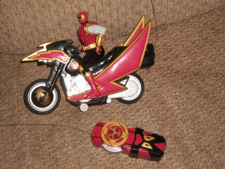 2002 Ninja Storm Power Ranger Crimson Thunder Tsunami Cycle R/C Action Figure   Toys & Hobbies, Action Figures, TV, Movie & Video Games   eBay!
