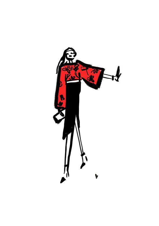 comifashion strunevskaya illustration fashion art