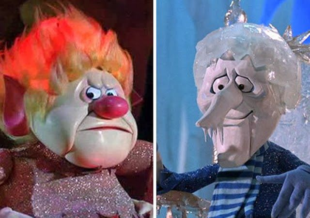 Jack Frost and Mr. Heat Miser