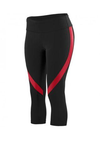 FitnessSanctum.com ---NEW---Fearless Crimson CrossFit Capri Pants from Fearless Fit Apparel-- $52--(fitnessssanctum.com...)