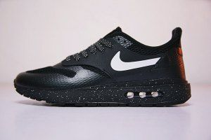 Mens NikeLab Air Max 1 Royal SE Black and white ink AA0869-003 Running Shoes d92bf2643