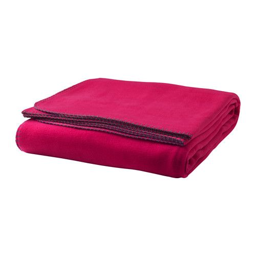 VINTER 2016 Bedspread IKEA Fleece is a soft, easy-care material that you can machine wash.