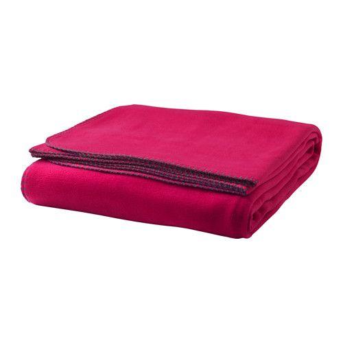 IKEA - VINTER 2016, Tagesdecke, Eine weiche und pflegeleichte Flauschdecke, die sich in der Maschine waschen lässt.Auch als Tagesdecke für Einzelbett oder als eine große Decke zu verwenden.