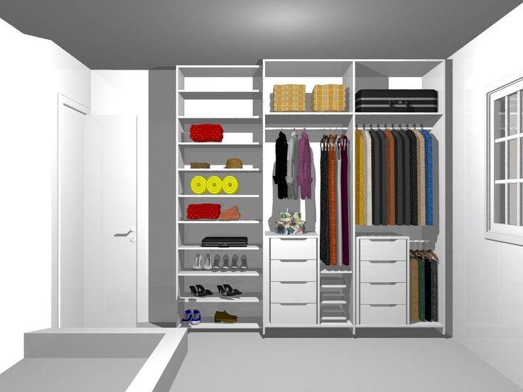 Guarda roupa planejado - http://www.dicasdecoracao.com/guarda-roupa-planejado/
