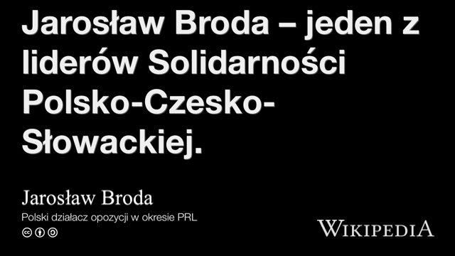 """""""Jarosław Broda"""" på @Wikipedia:"""