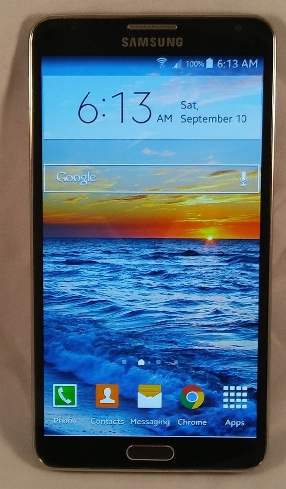 Samsung Galaxy Note 3 SM-N900A 32GB AT&T UNLOCKED Smartphone + EXTRA…