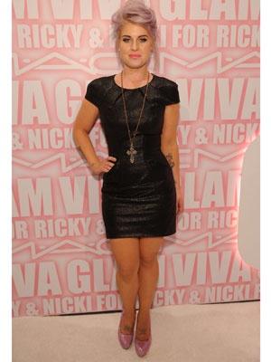 Kelly Osbourne at the MAC Cosmetics Viva Glam Party, Feb 2012