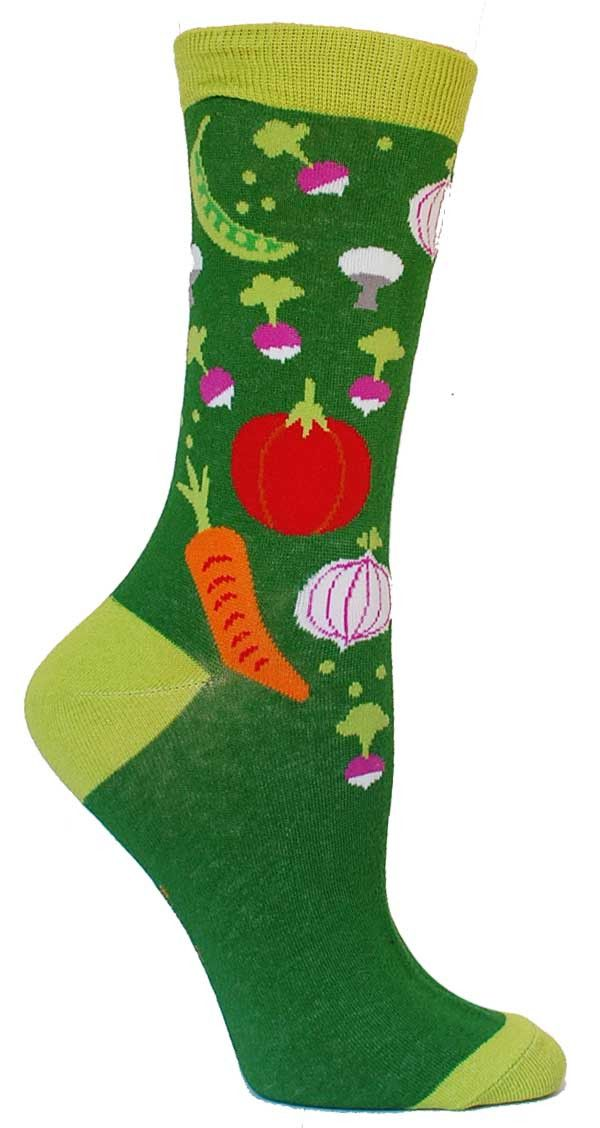 Now that your mother isn't constantly reminding you to eat your vegetables.. somebody has to. You know the more colorful your plate is the better, and we here at The Sock Drawer like to say the same t
