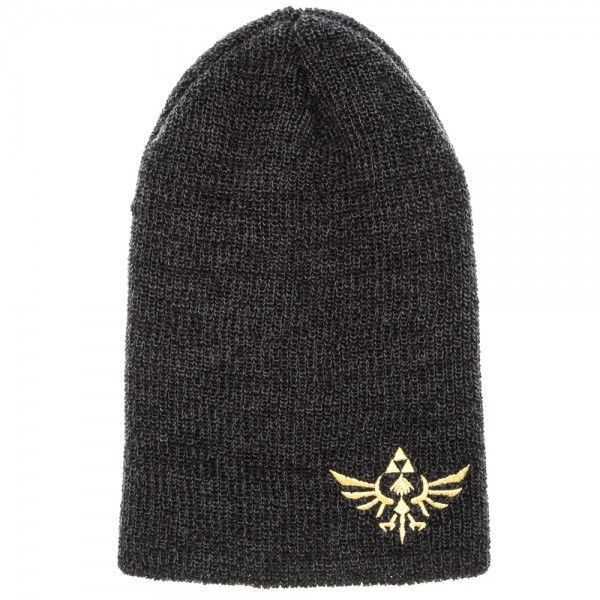 Legend of Zelda Gold Royal Crest Logo Summer Beanie