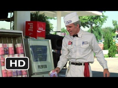 The Jerk Movie Clip - watch all clips http://j.mp/zNbEUn  click to subscribe http://j.mp/sNDUs5    While working at the gas station, Navin (Steve Martin) gets shot at by a mad gunman (M. Emmet Walsh).    TM & © Universal (2012)  Cast: Steve Martin, Jackie Mason, Dick O'Neill, M. Emmet Walsh  Director: Carl Reiner  MOVIECLIPS YouTube Channel: http://j.mp...