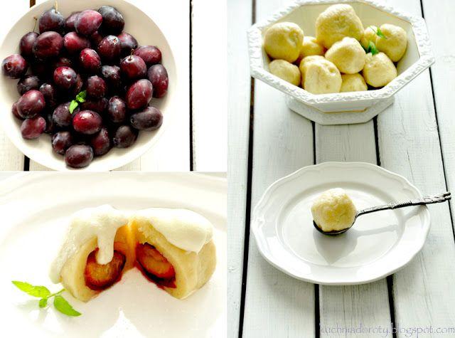 Kuchnia Doroty: Knedle ze śliwkami: Kuchniadoroty Blogspot Com, Matter Of Taste, Knedle Ze, Kuchnia Doroty, Śliwkami Przepis