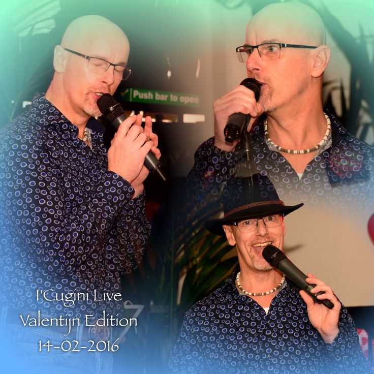 Foto's: Elly Domenie I'Cugini Live 14-02-2016 Vlaardingen