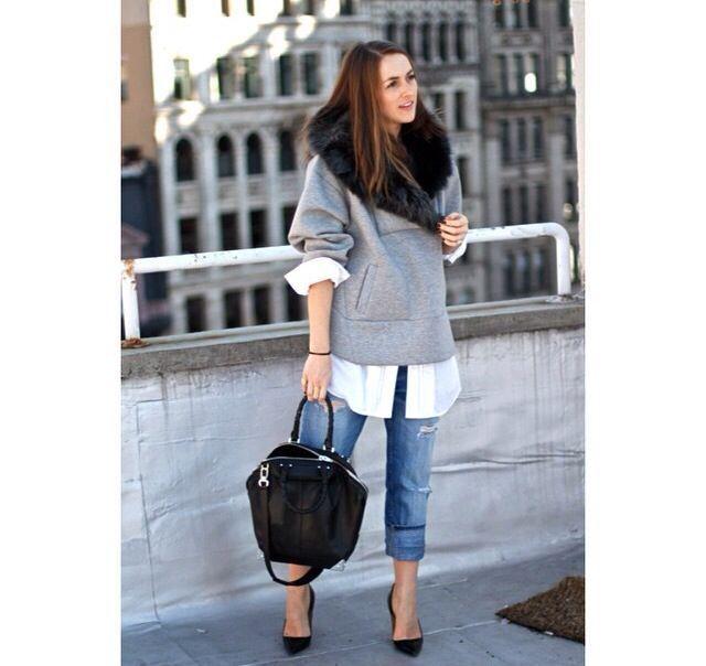 Jeans code: strappati e ricuciti per uno stile rock e ricercato |  #Fashionable #Cloud www.fashionablecloud.com