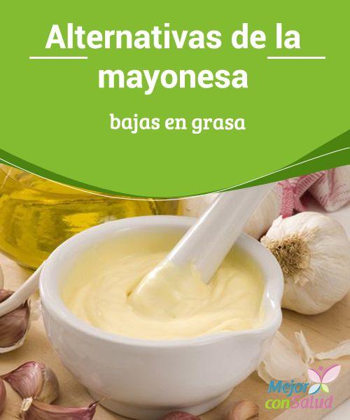 """Alternativas de la #Mayonesa bajas en #Grasa - """"""""  Alternativas naturales de la mayonesa, casi todas sin #Huevo ni otro ingrediente de origen animal, siendo ideales para veganos o para hacer dietas. #Recetas"""