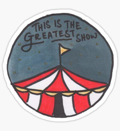 The Greatest Show (Night) Sticker
