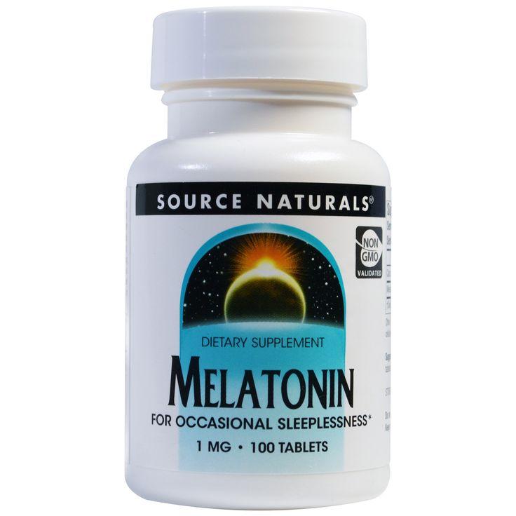 Comprar Source Naturals, Melatonina, 1 Mg, 100 Comprimidos