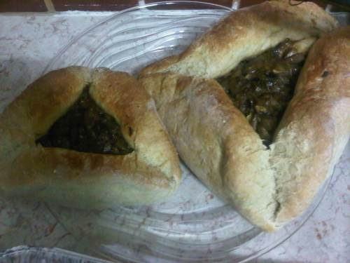 If Deena made them and says they're good, then they must be good. Savory filled bread hamentashen