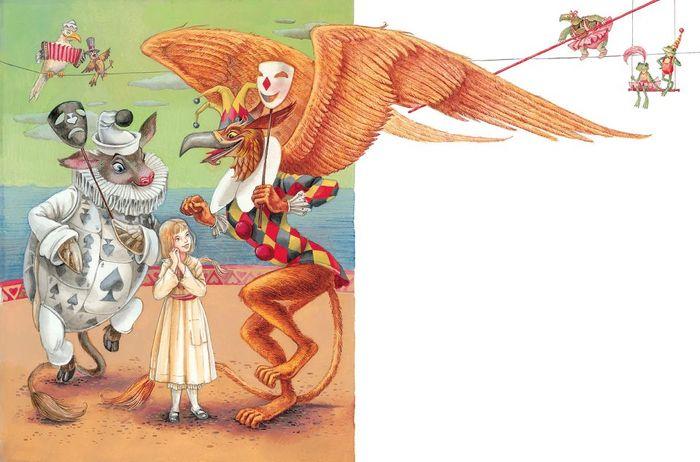 0_f889d_254ea96c_XXL (700x462, 289Kb) Иллюстратор Максим Митрофанов -«Алиса в стране чудес»