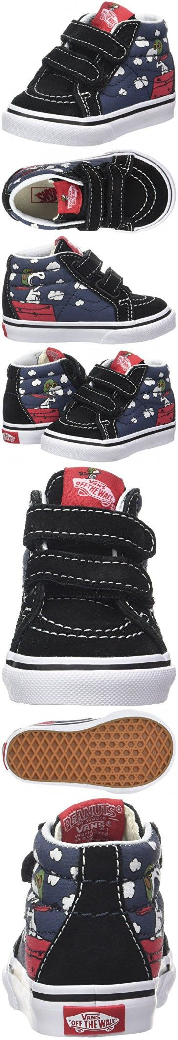 Vans Toddlers Sk8-Mid Reissue V (Peanuts) Flying Aces/Dress Blues VN0A348JOHK Toddler 8