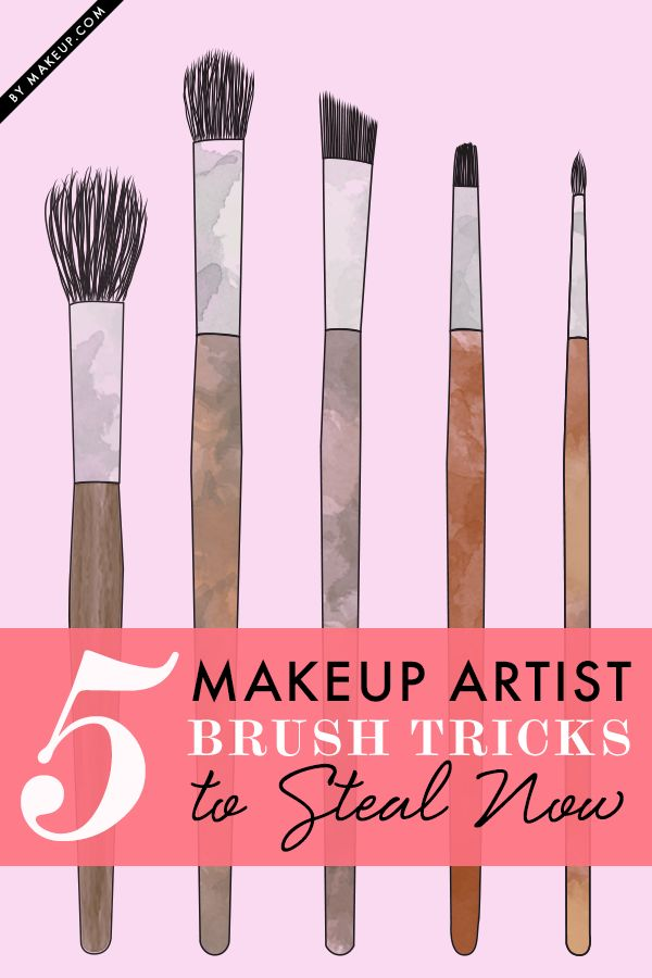 There are so many makeup brushes to choose from and SO many ways to use them. We asked the pros to narrow down their favorites and their best tricks to using them!