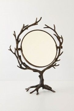 Who's The Fairest Mirror - eclectic - makeup mirrors - other metro - Anthropologie