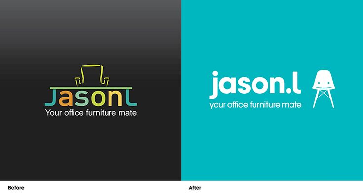 Jason L - Logo Before & After